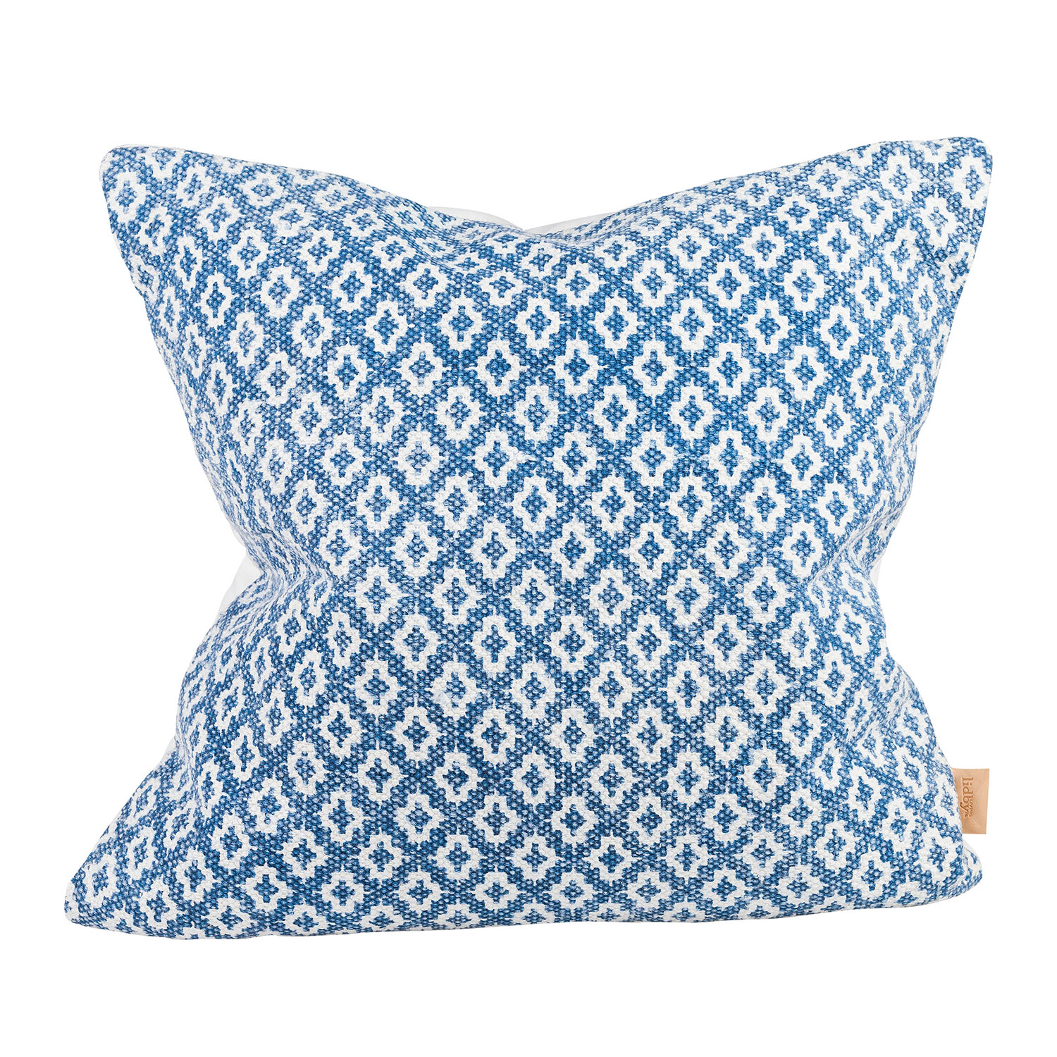 India Vintage Cushion Cover, Blue