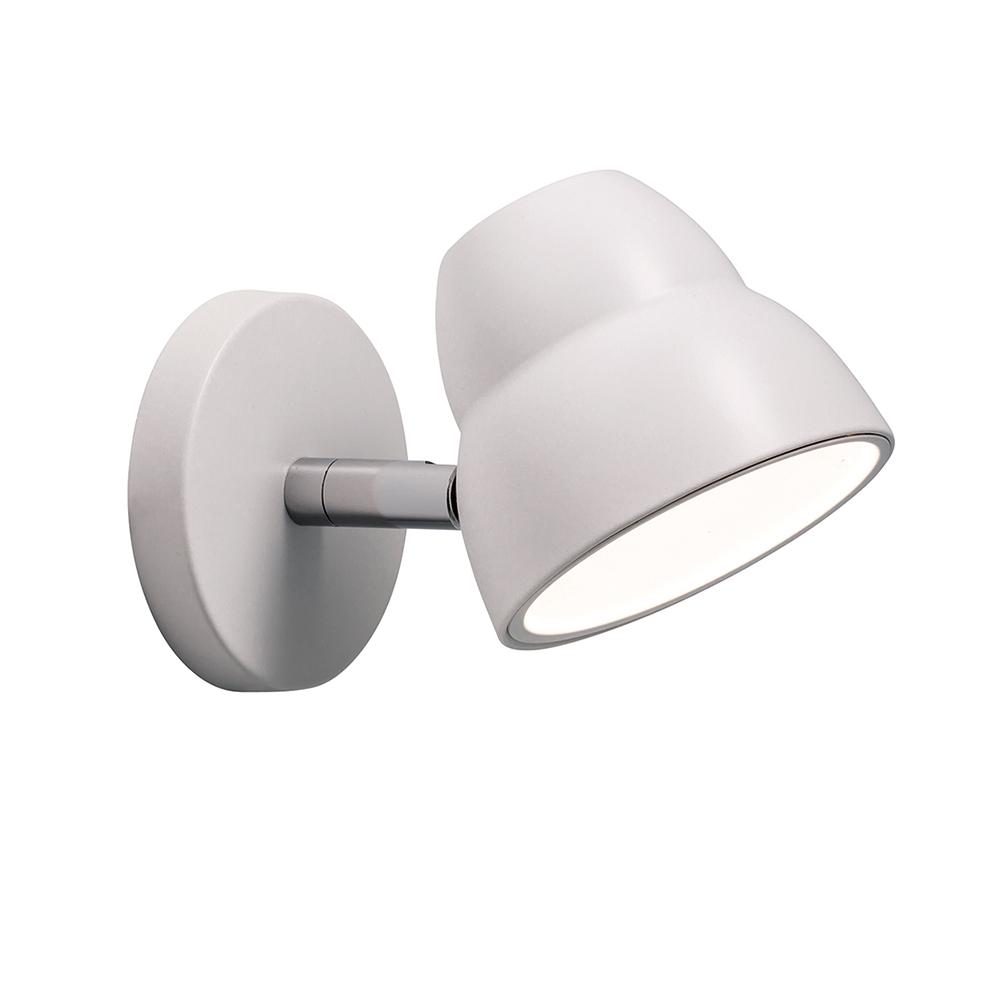 Fico Wall Lamp, White Herstal Herstal RoyalDesign com