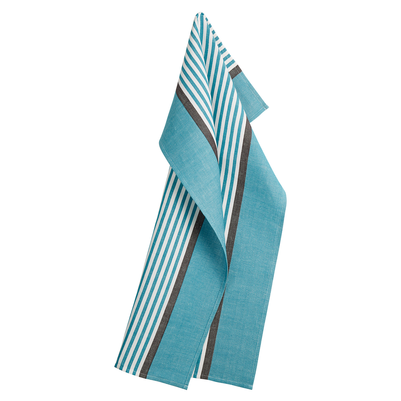 Abild Towel 50x80cm, Dark Turquoise
