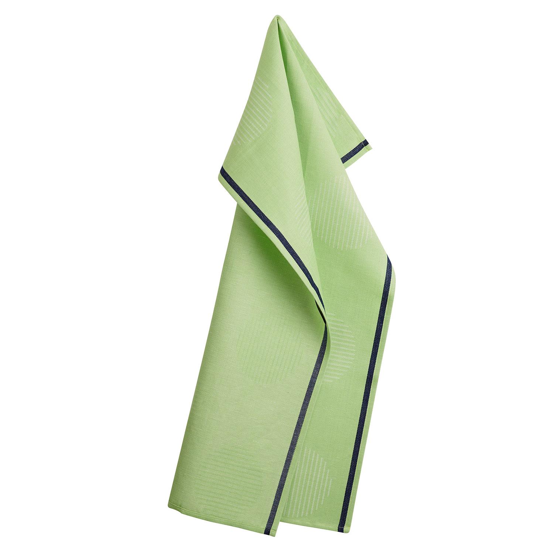 points tea towel 50x80cm spring leaves georg jensen damask georg jensen damask. Black Bedroom Furniture Sets. Home Design Ideas