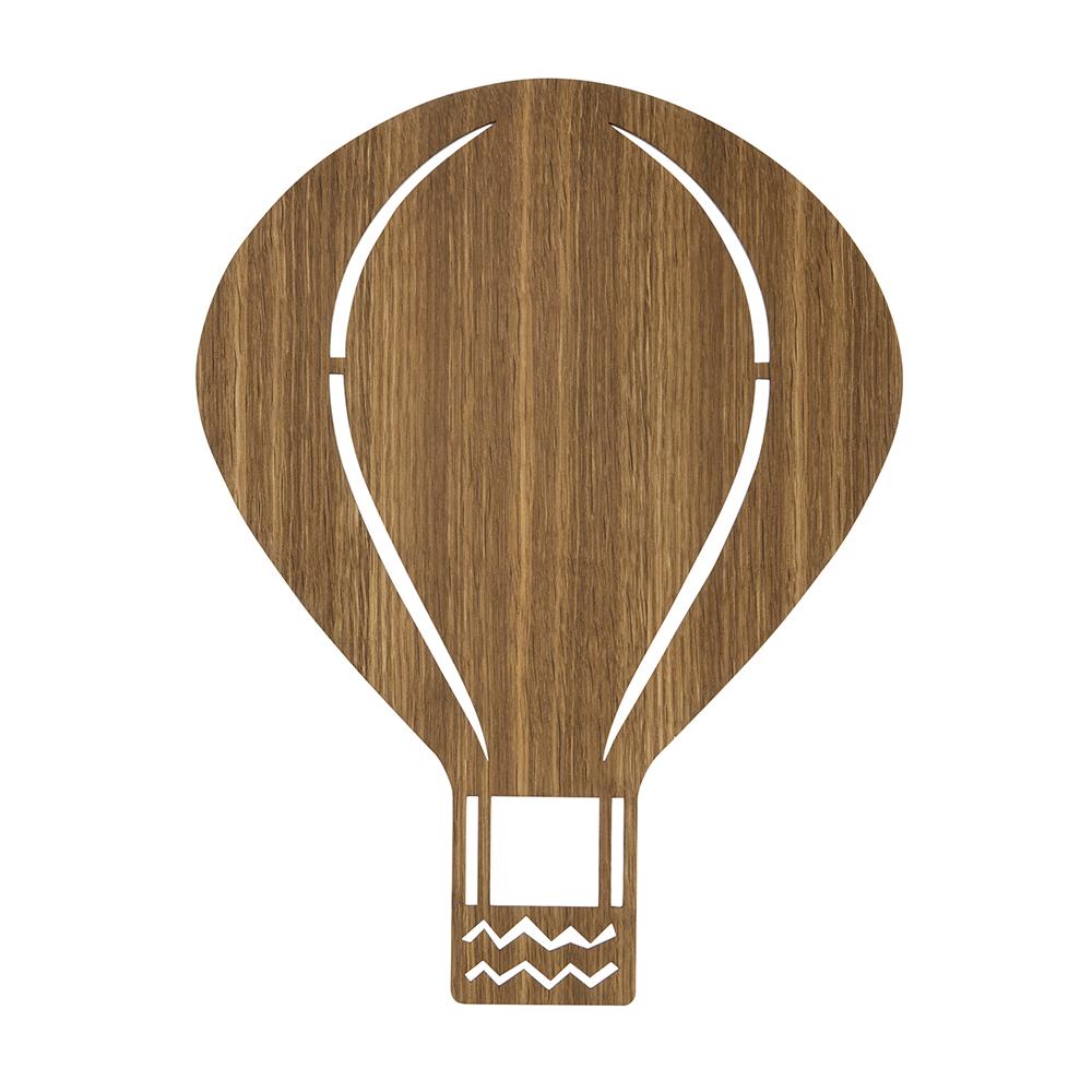 Air Balloon Lamp G4 Led, Oak