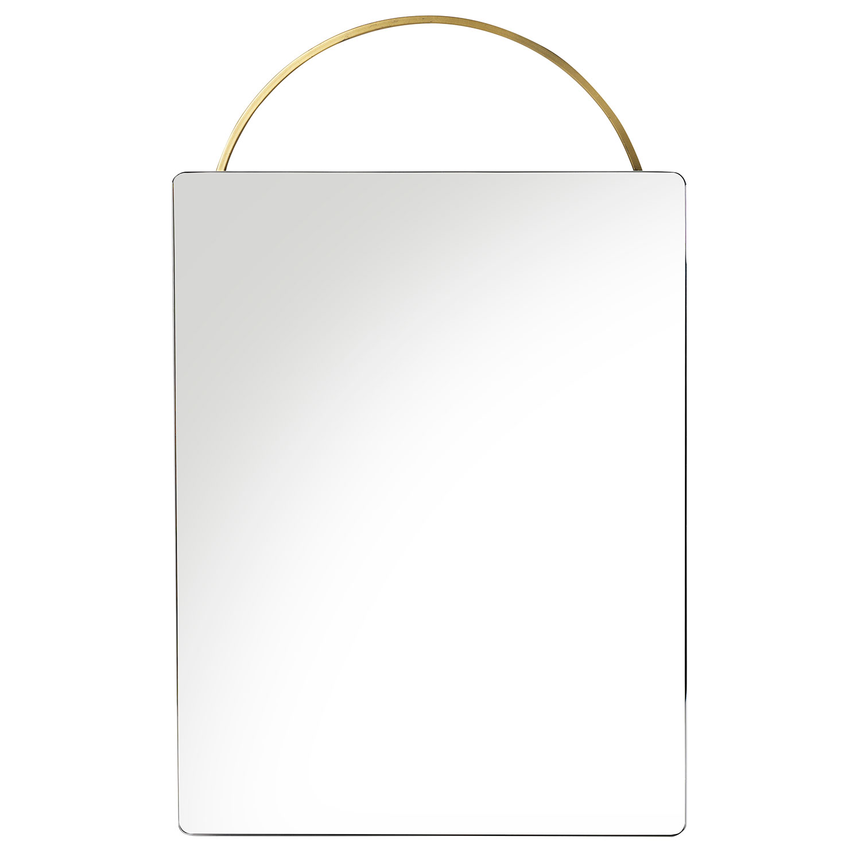 Adorn Mirror 35x53cm, Brass