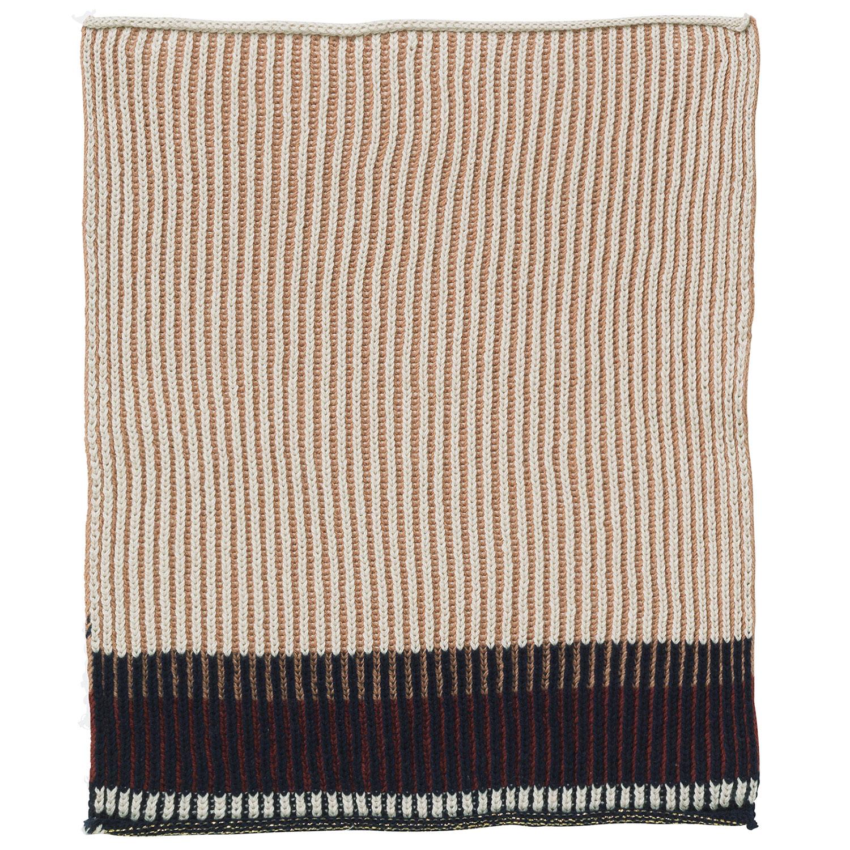 Akin Knitted Tea Towel 34x70cm, Rose