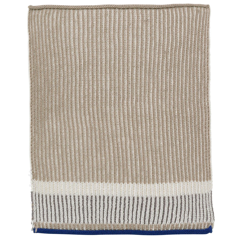 Akin Knitted Tea Towel 34x70cm, Beige