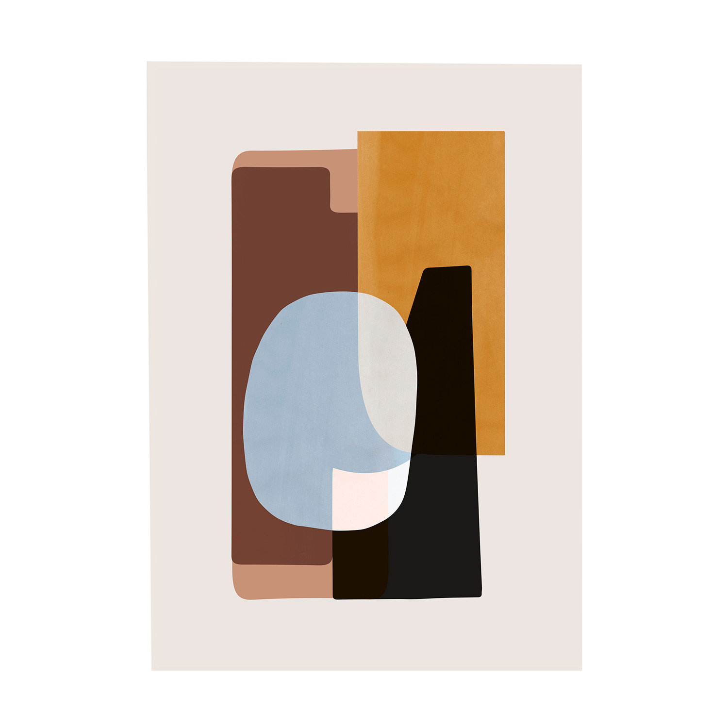 Abstraction 1 Poster 50x70cm