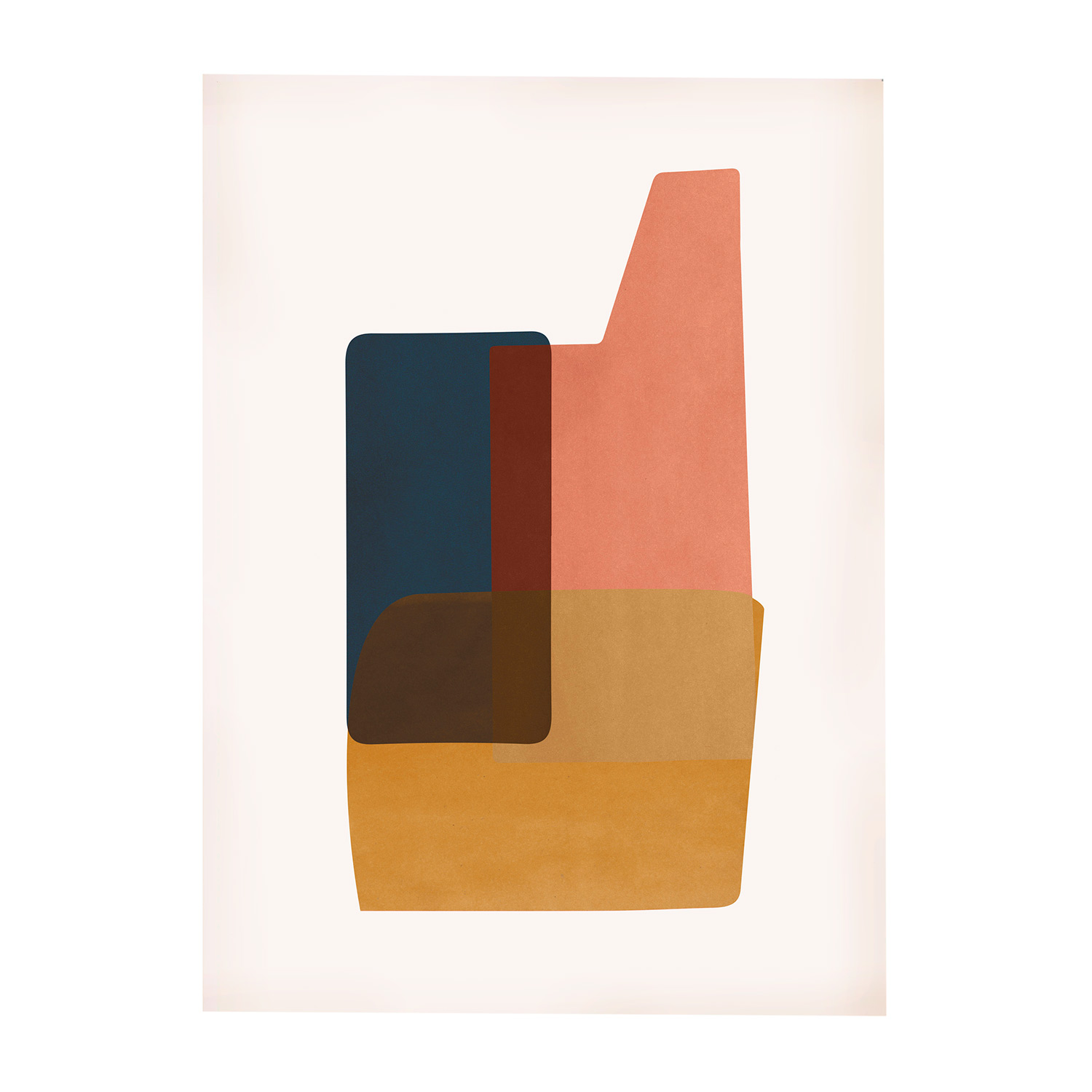 Abstraction 2 Poster 50x70cm