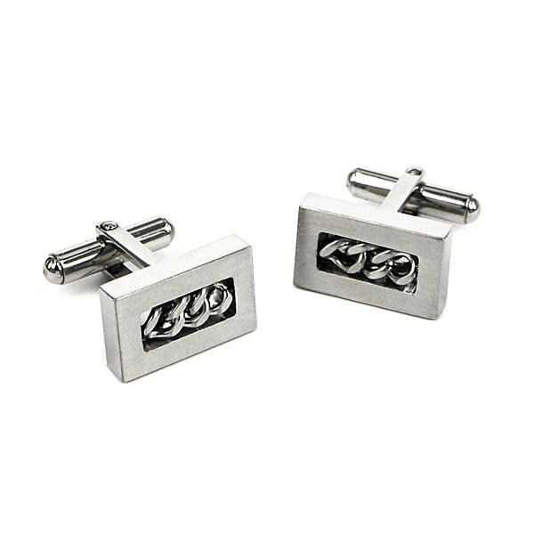 DEX Cufflinks, Stainless Steel