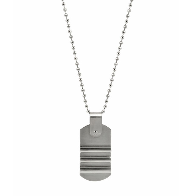 ANTON Necklace 62cm, Stainless Steel