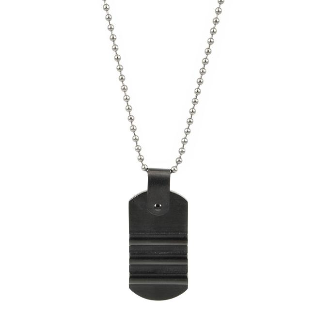 ANTON Necklace 62cm, Grey