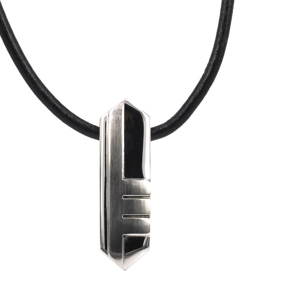 BRIAN Necklace 46cm, Stainless Steel