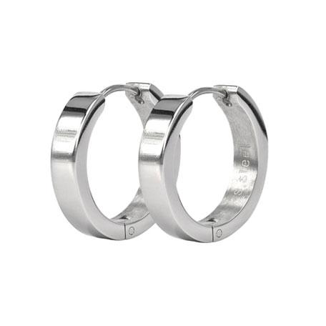 BEA Earrings Ø10mm, Steel