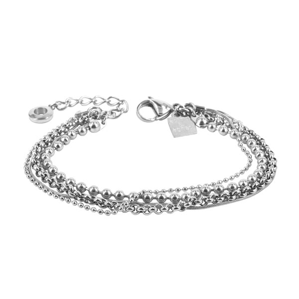 ADELE Bracelet 18cm, Steel