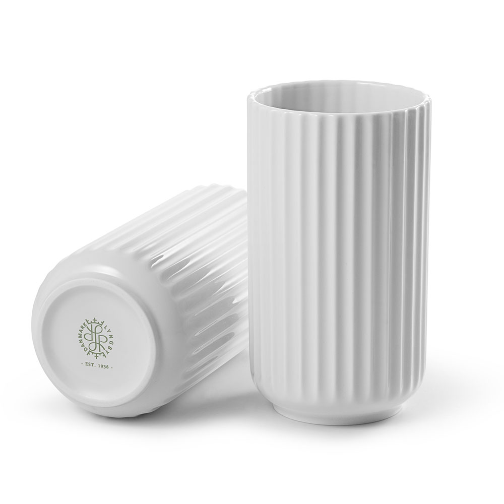 the lyngby vase 15cm white lyngby porcel n lyngby porcel n. Black Bedroom Furniture Sets. Home Design Ideas