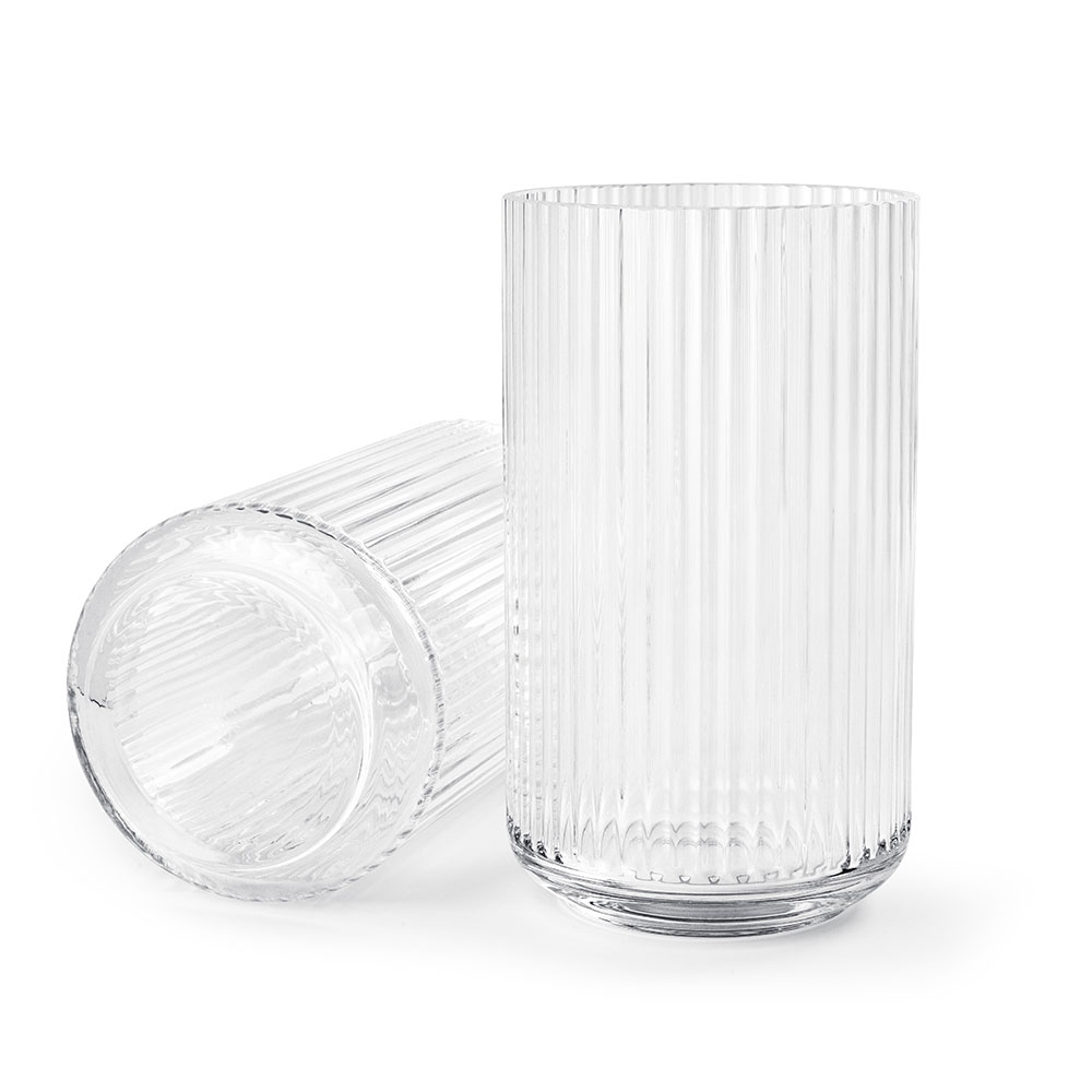 the lyngby vase glass 25cm lyngby porcel n lyngby porcel n. Black Bedroom Furniture Sets. Home Design Ideas