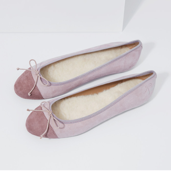 Flattered Alicia Indoor Nude Pink/Dusty Rose 36