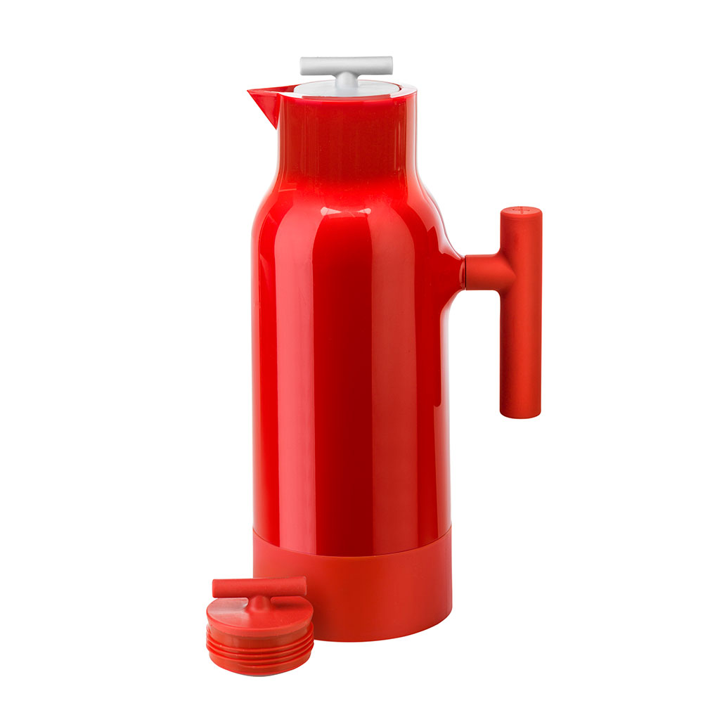 Accent Coffee Pot, Red - Gustav Hallen - Sagaform - RoyalDesign.com