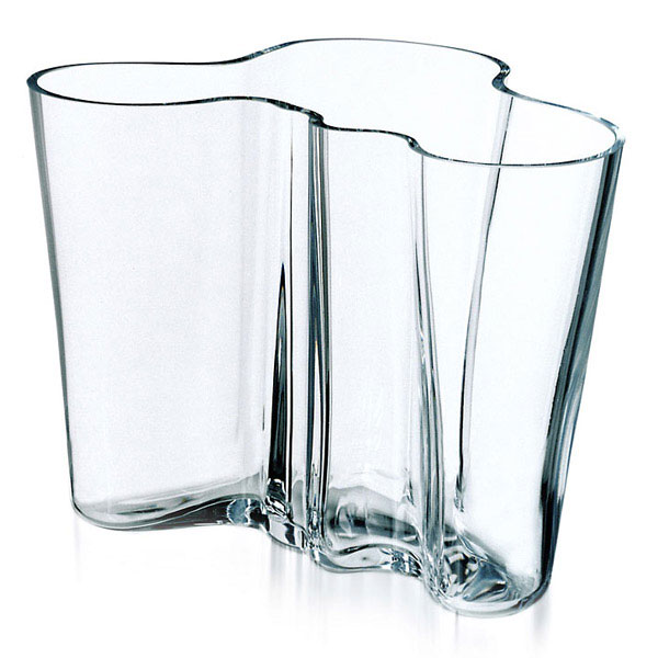 alvar aalto vase clear alvar aalto iittala. Black Bedroom Furniture Sets. Home Design Ideas
