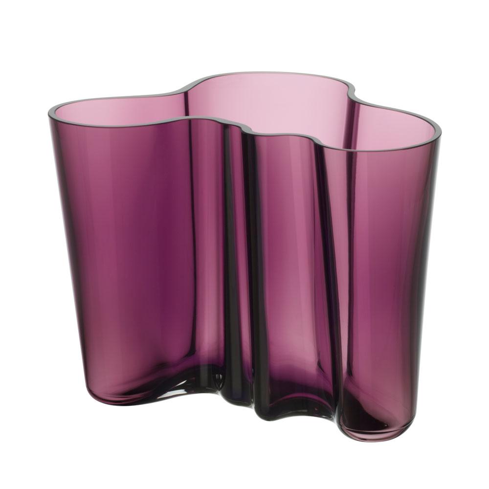 aalto vase dark purple iittala. Black Bedroom Furniture Sets. Home Design Ideas