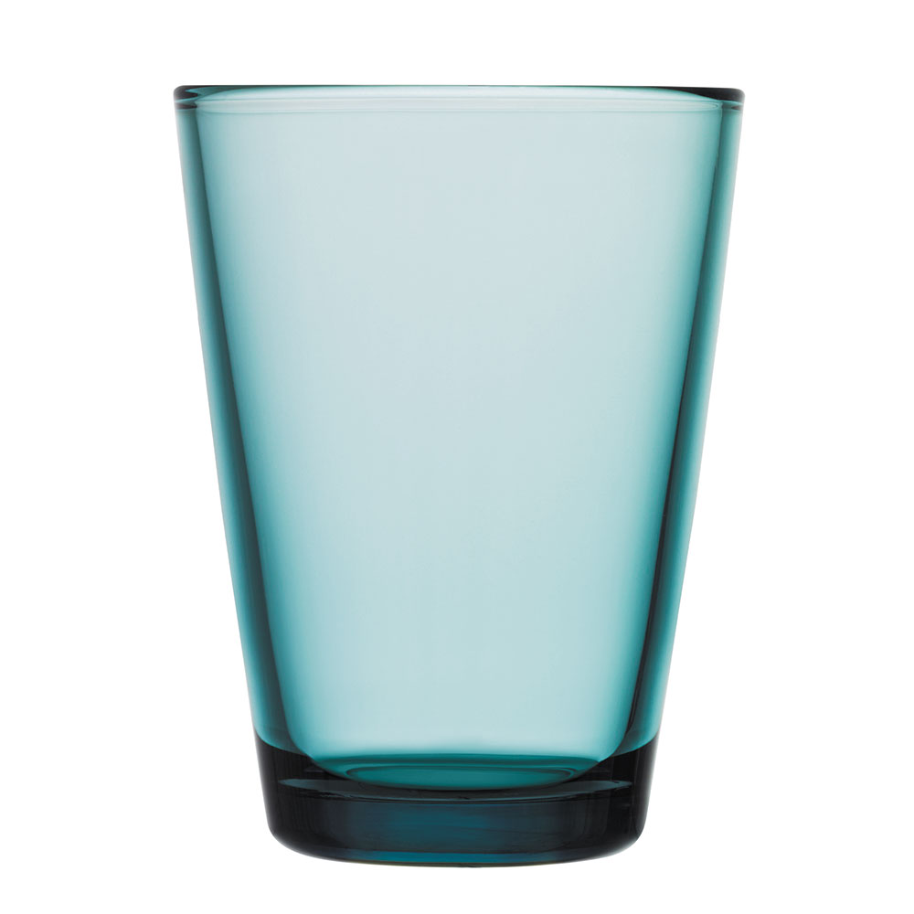 Kartio Drinking Glass 40cl 2Pcs, Sea Blue