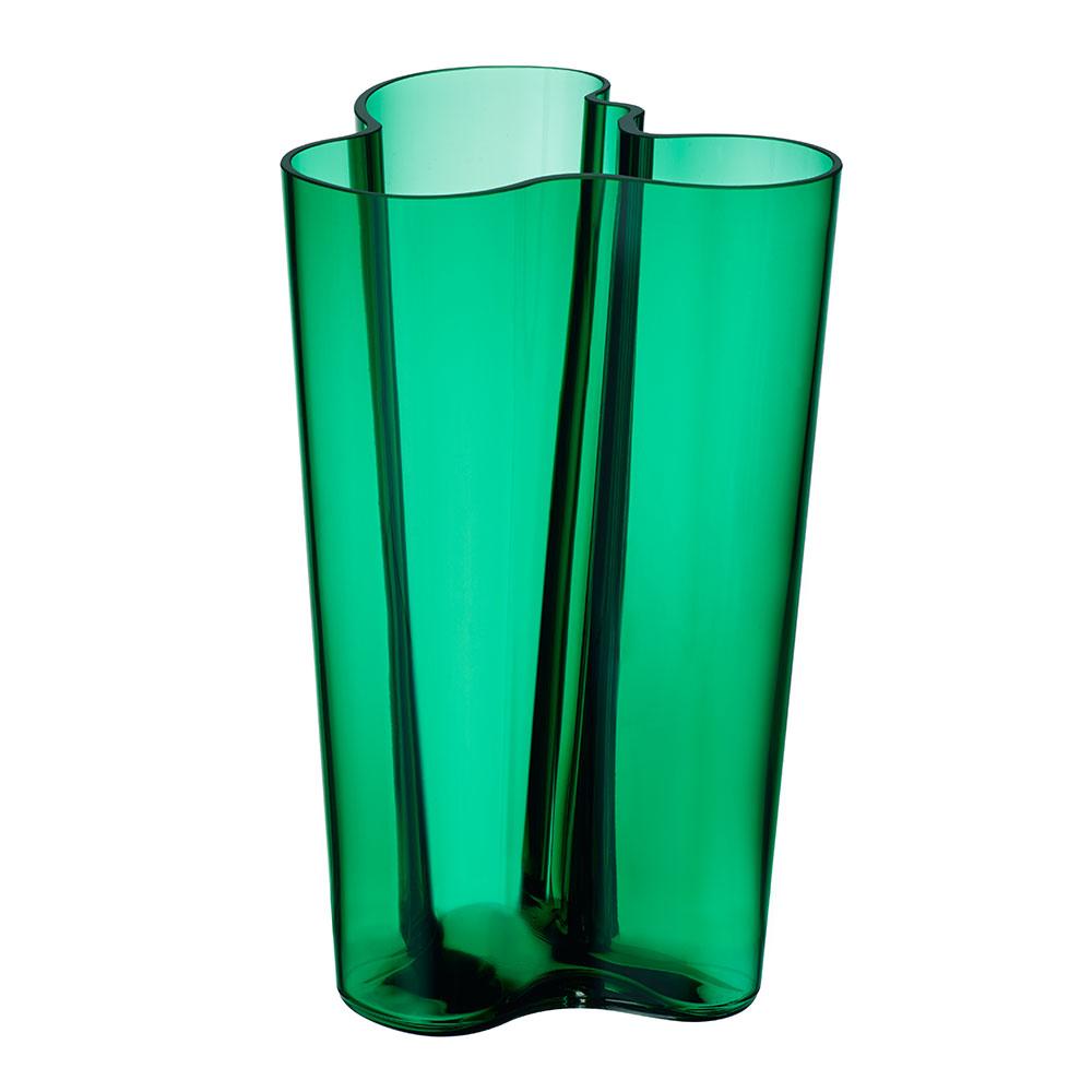 alvar aalto vase smaragd 25 1cm alvar aalto iittala. Black Bedroom Furniture Sets. Home Design Ideas