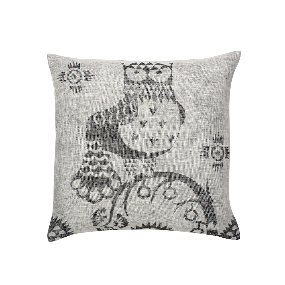 Taika Cushion Cover 50x50cm, Grey