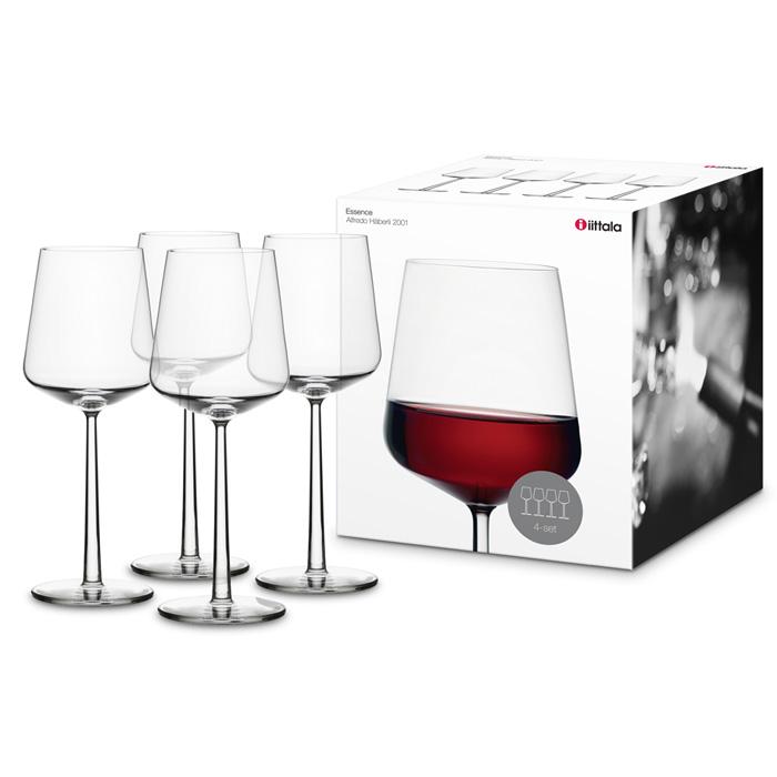 essence red wine glass set of 4 alfredo h berli iittala. Black Bedroom Furniture Sets. Home Design Ideas