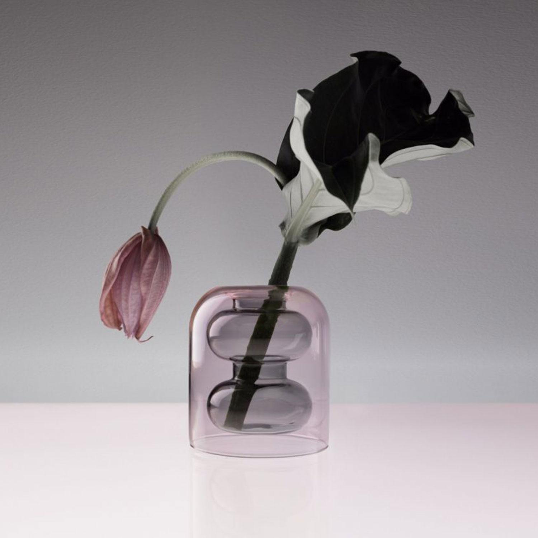 bump vase 11x12 5cm pink tom dixon tom dixon. Black Bedroom Furniture Sets. Home Design Ideas