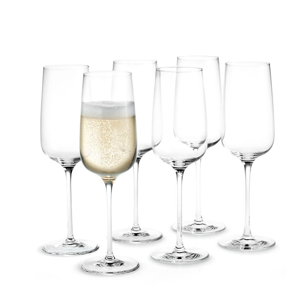 Bouquet Champagne Glass 29cl, 6-pcs