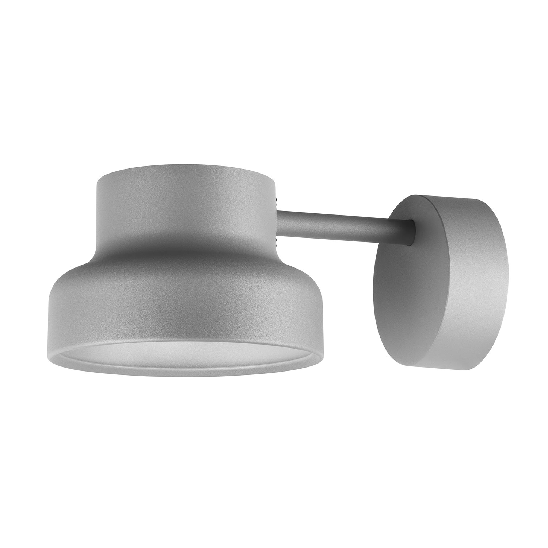 Bumling Mini Wall Lamp Outdoor, Aluminium Grey