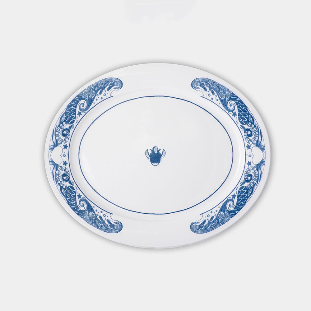 Azur Serving Plate 33x27cm