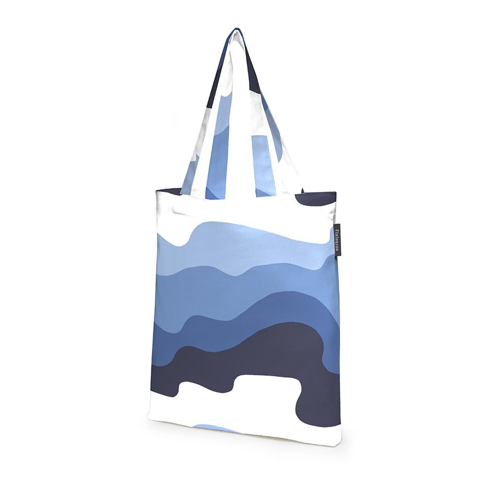 Aalto Shopping Bag 36x42cm, Blue