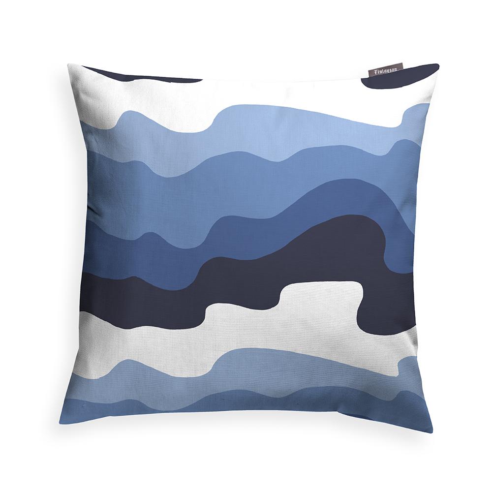 Aalto Cushion Cover 48x48cm, Blue