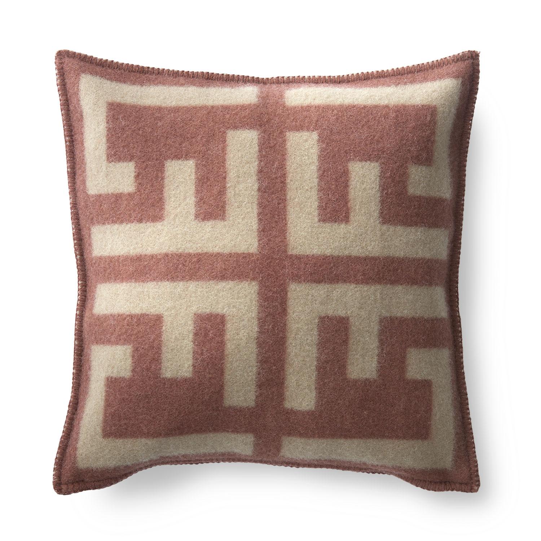 Emil Cushion Cover 50x50cm, Beige/brown
