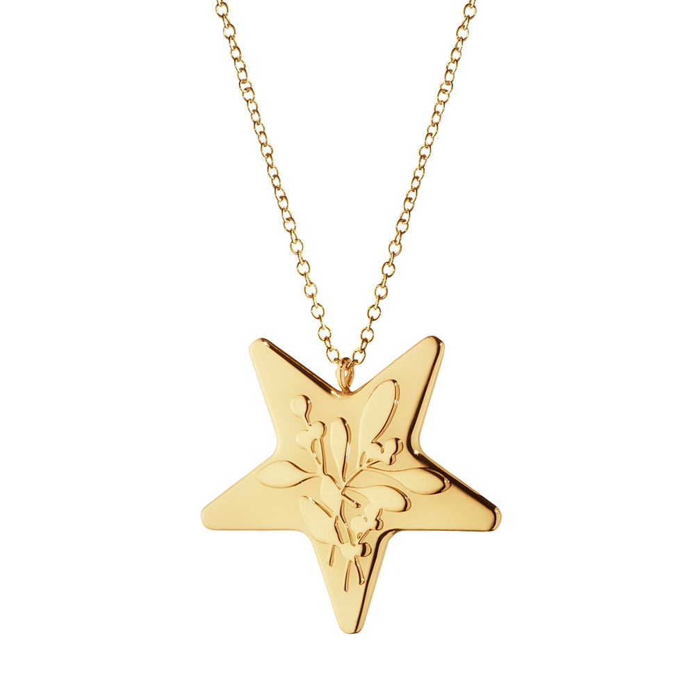2015 Ornament Star, Gold