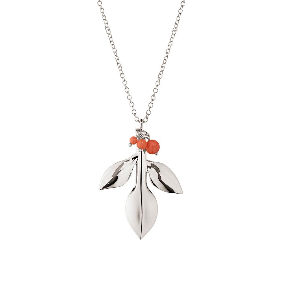 2016 Christmas Ornament Magnolia/Berry, Silver