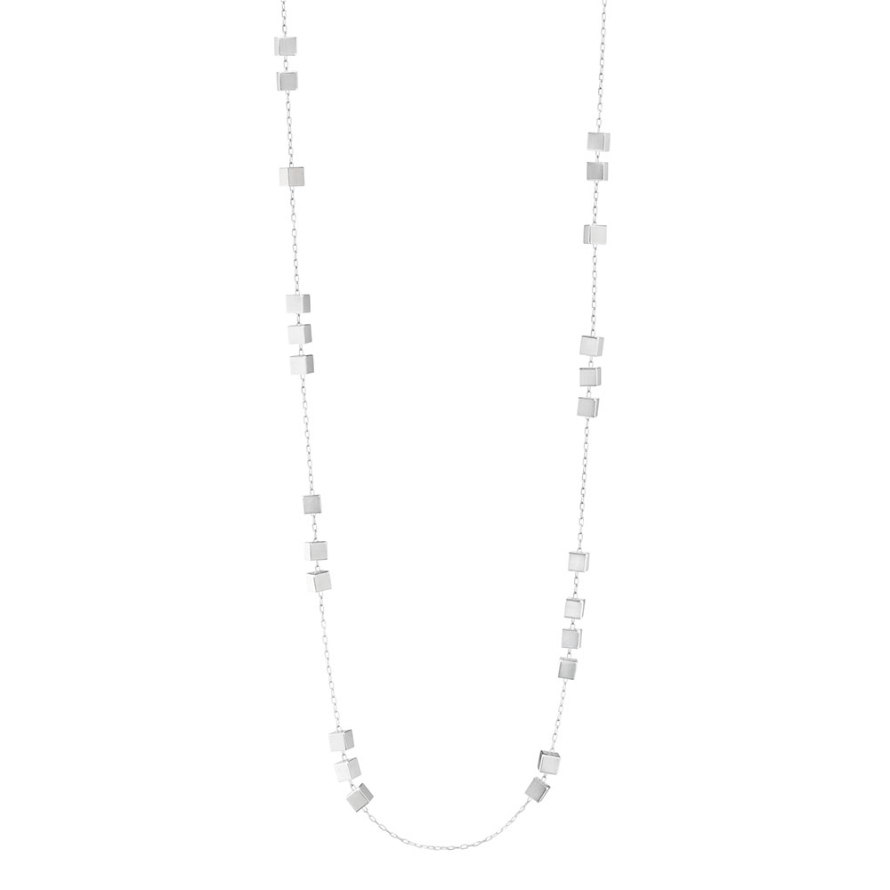 Aria Long Necklace, Sterling Silver