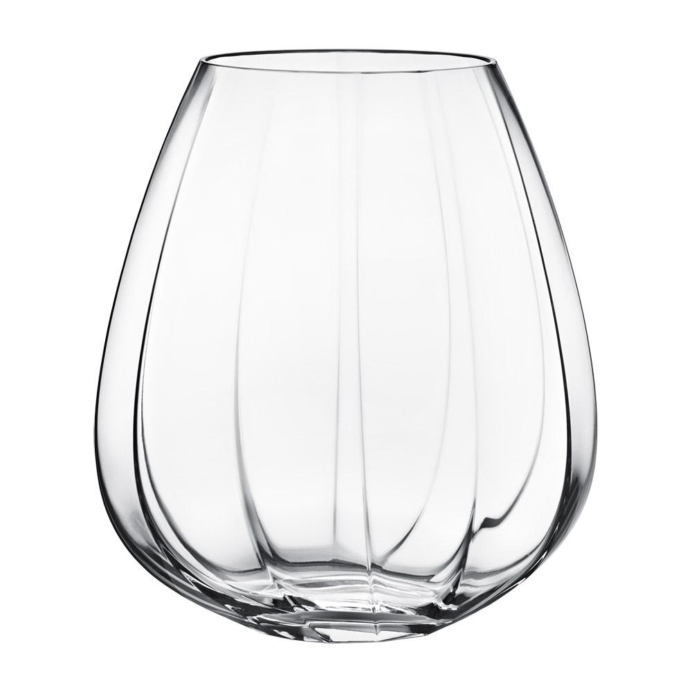 facet glass vase large rikke hagen georg jensen. Black Bedroom Furniture Sets. Home Design Ideas