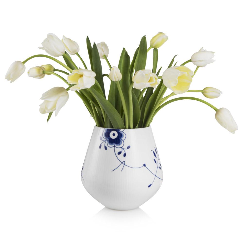 Blue fluted mega vase m karen kjldgrd larsen royal royal copenhagen zoom zoom zoom reviewsmspy