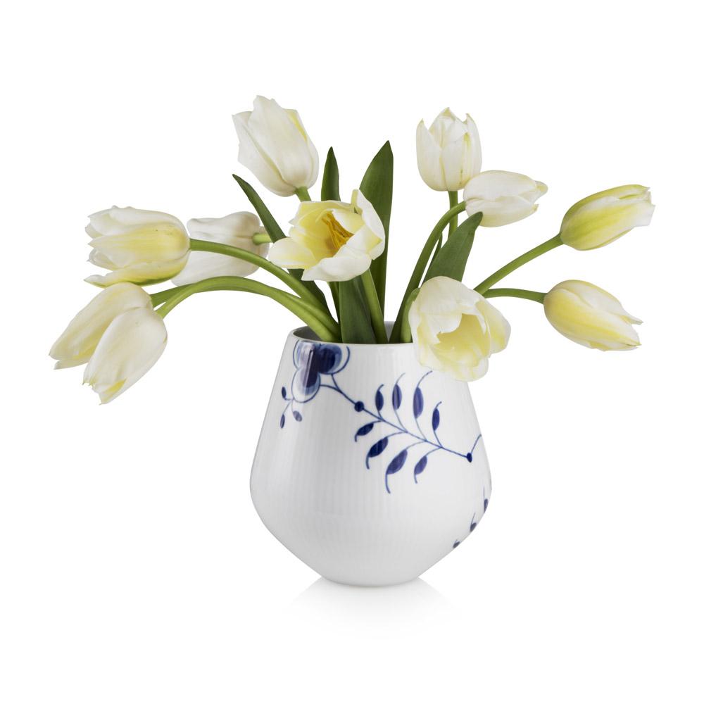Blue fluted mega vase l karen kjldgrd larsen royal royal copenhagen zoom zoom reviewsmspy