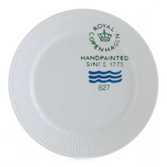 Royal Copenhagen · Zoom  sc 1 st  RoyalDesign & Fluted Signatur Plate 27 cm White - Royal Copenhagen - Royal ...