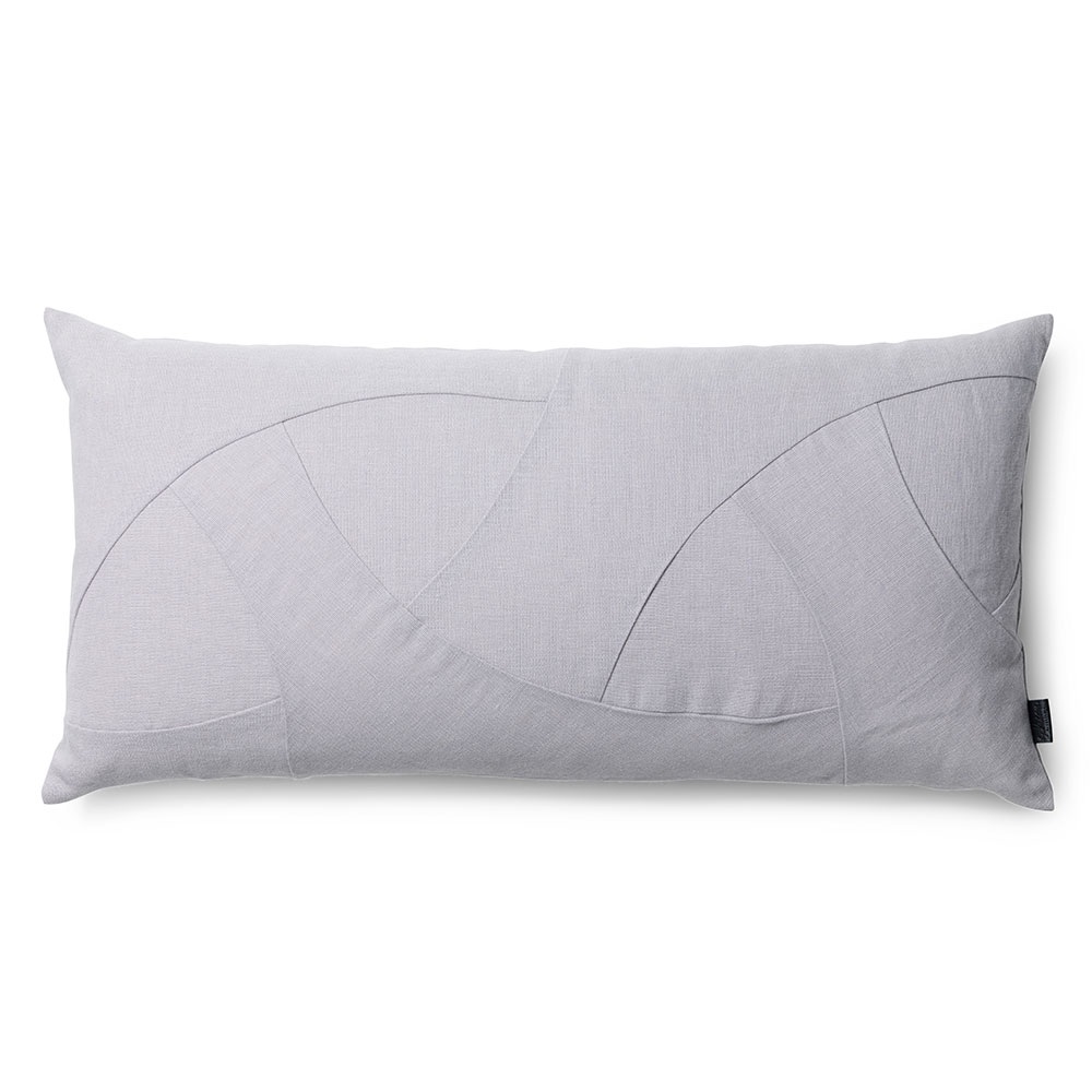 Flow Cushion 35x70cm, Grey