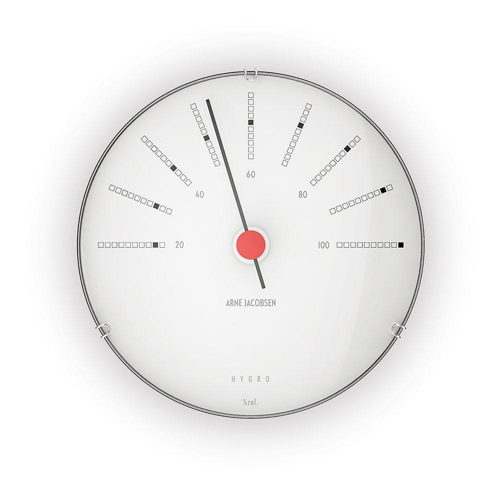 AJ Bankers Hygrometer 12cm