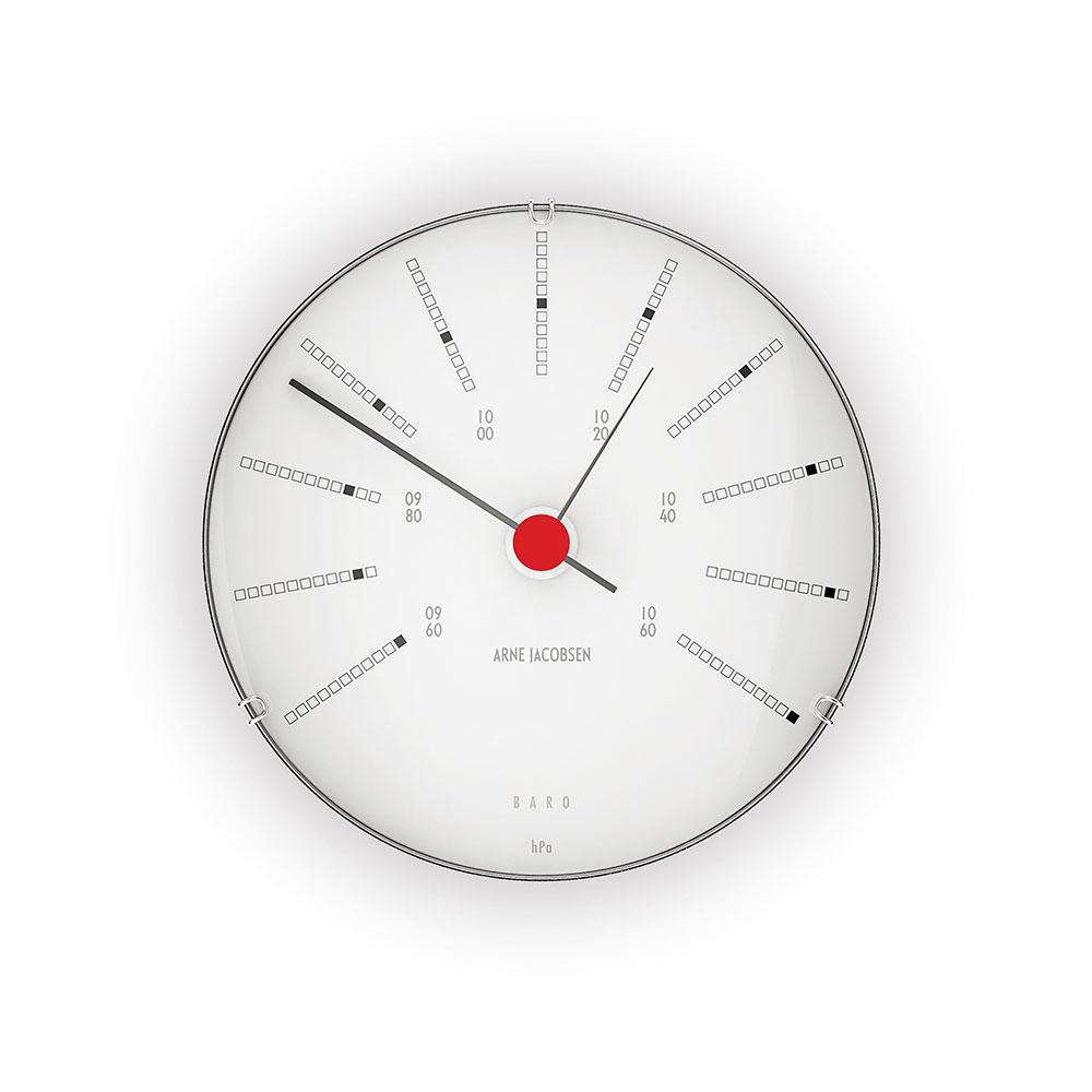 AJ Bankers Barometer 12cm