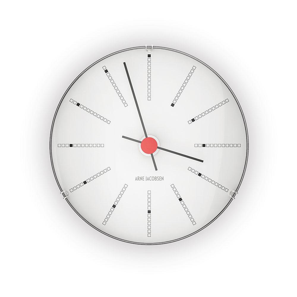 AJ Bankers Wall Clock 12cm