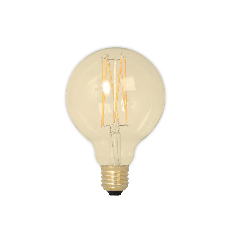Globe Gold Light Bulb D80 E27 4W
