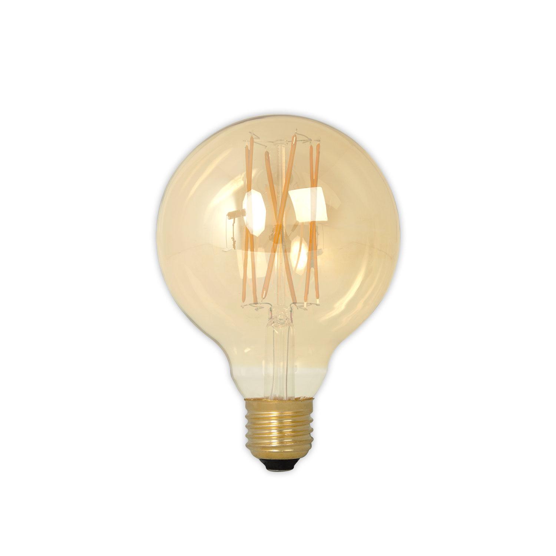 Globe Gold Light Bulb D95 E27 4W
