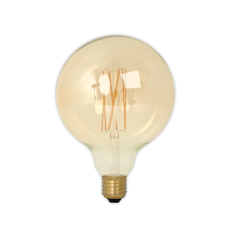 Globe Gold Light Bulb D125 E27 4W