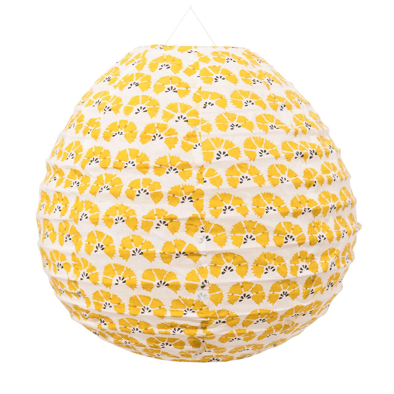Cornflower Lampshade 40x41cm, Yellow