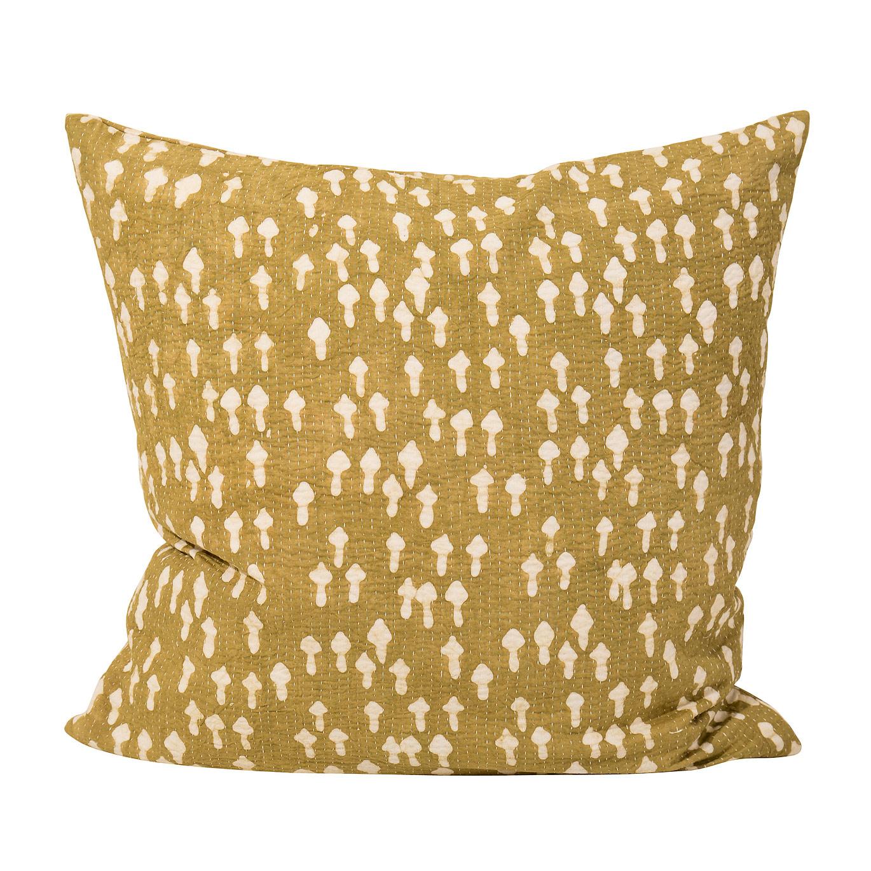 Arrow Cushion Cover 50x50cm, Yellow