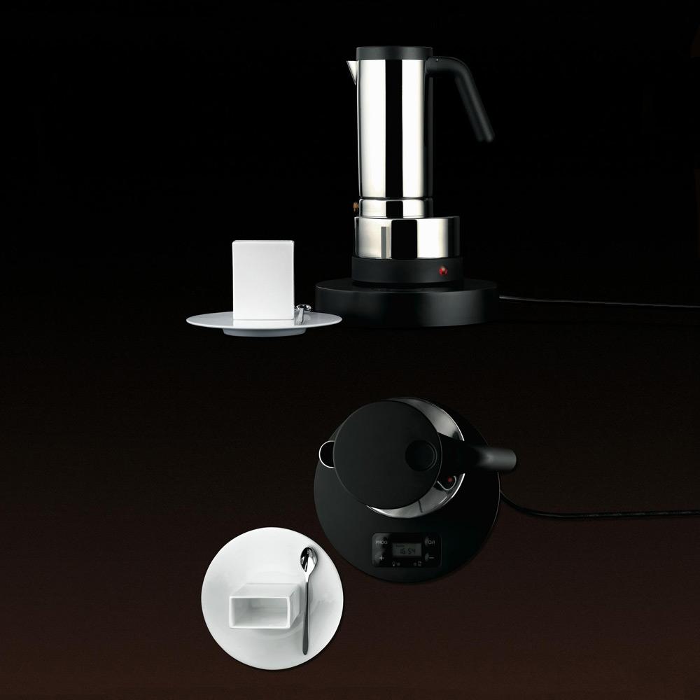 Alessi Electric Espresso Coffee Maker Rs07/Uk : RoyalDesign.com